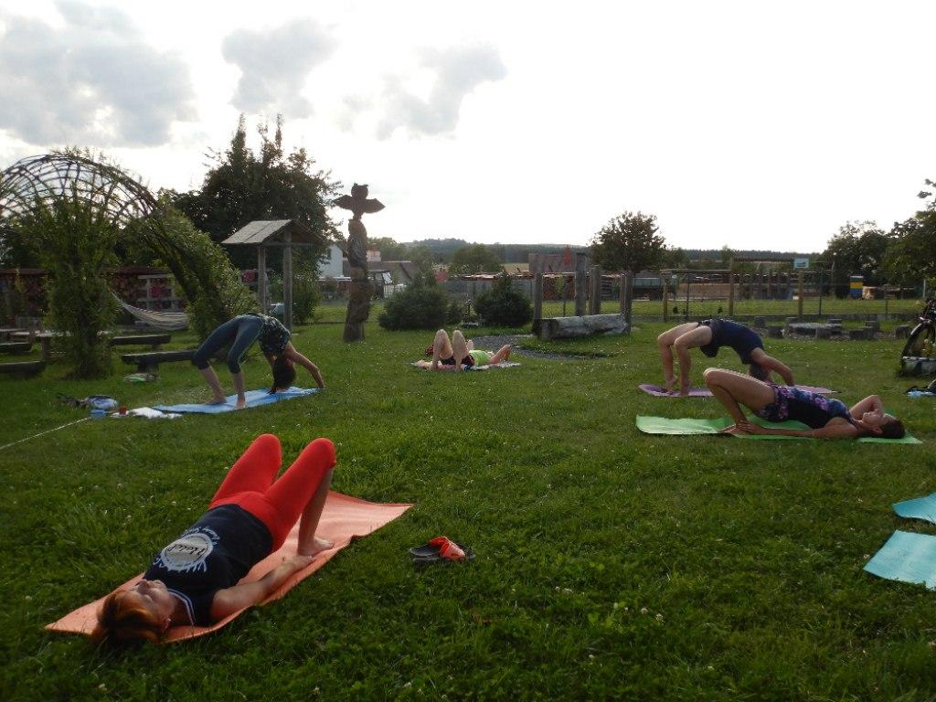Prázdninové cvičení jógy s Danielou 18