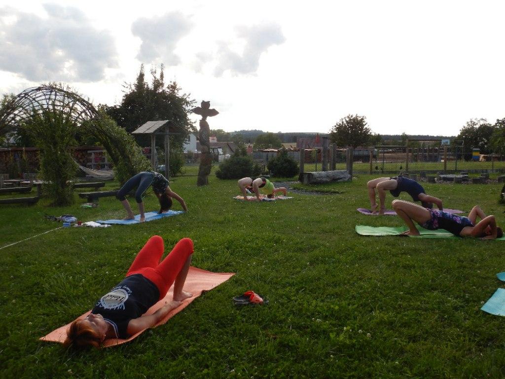 Prázdninové cvičení jógy s Danielou 19