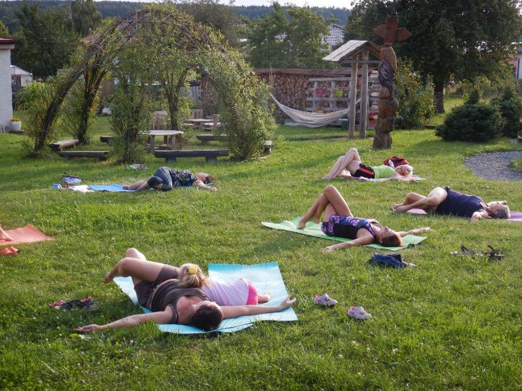 Prázdninové cvičení jógy s Danielou 21